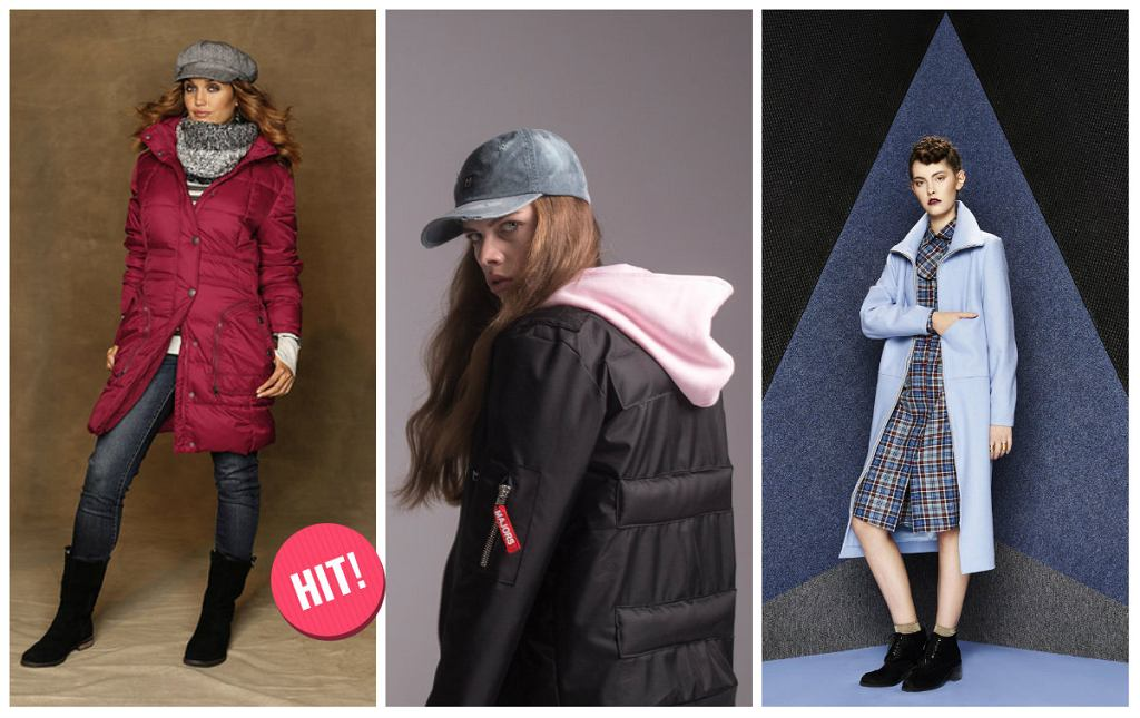 Płaszcze i kurtki na zimę - trendy