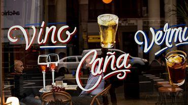 Restauracja w Hiszpanii.