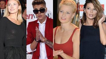 Edyta Górniak, Joanna Moro, Justin Bieber i Małgorzata Kożuchowska