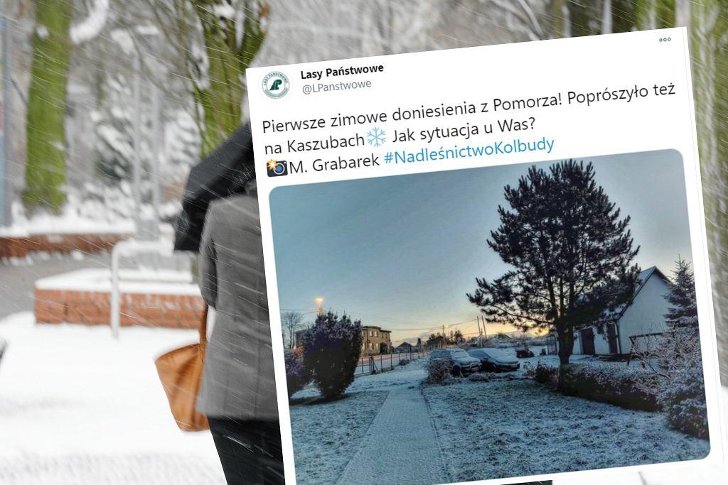 Pierwszy śnieg w Polsce