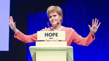 Nicola Sturgeon, premier autonomicznego rządu Szkocji i przewodnicząca Szkockiej Partii Narodowej
