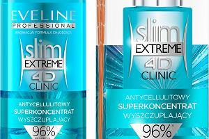 2 kroki do szczupłej sylwetki, bez cellulitu! Slim Extreme 4D Clinic Eveline Cosmetics - NOWOŚĆ
