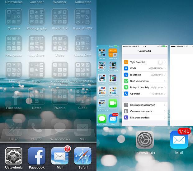 Przełączanie aplikacji