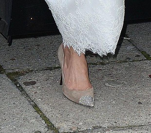 Izabela Zwierzyńska, buty, ślub