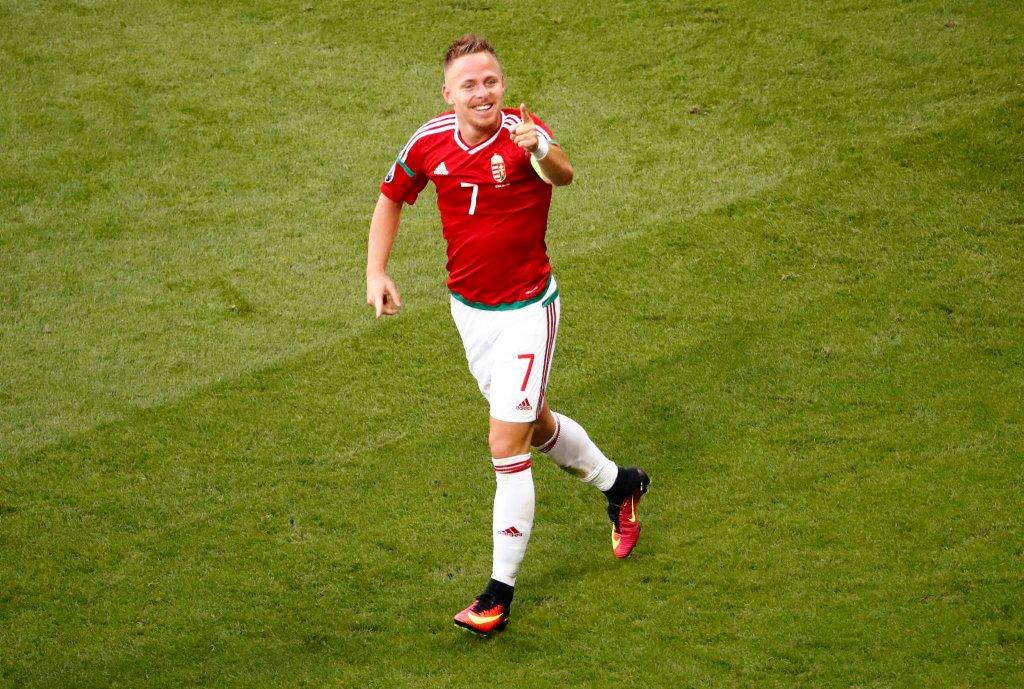 Euro 2016. Węgry - Portugalia. Balazs Dzsudzsak