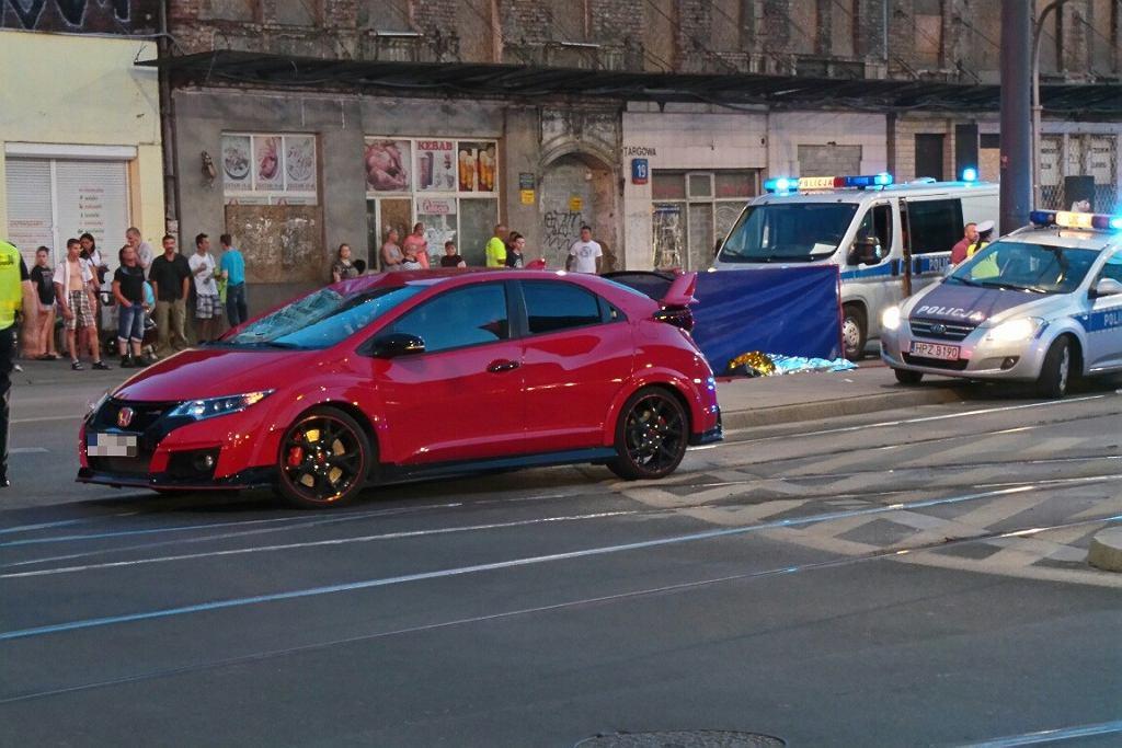 Warszawa. Śmiertelny wypadek na Targowej