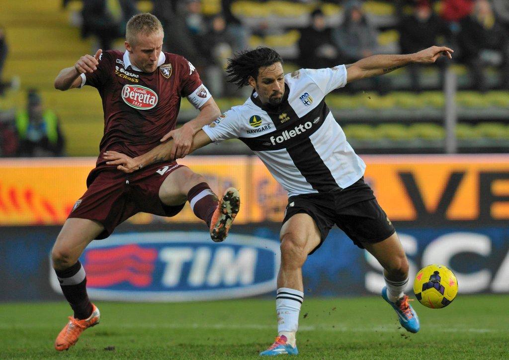 Carvalho Amauri (Parma) i Kamil Glik