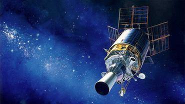 Satelita strzegący USA przed atakiem z przestrzeni kosmicznej.