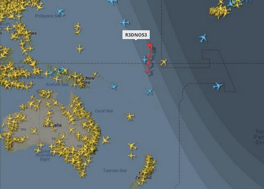 Na portalu flightradar24.com można wypatrzyć sanie Świętego Mikołaja