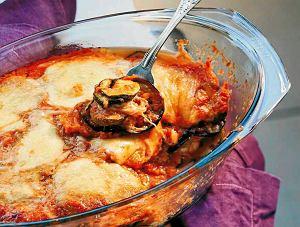 Bakłażany i cukinie alla parmigiana