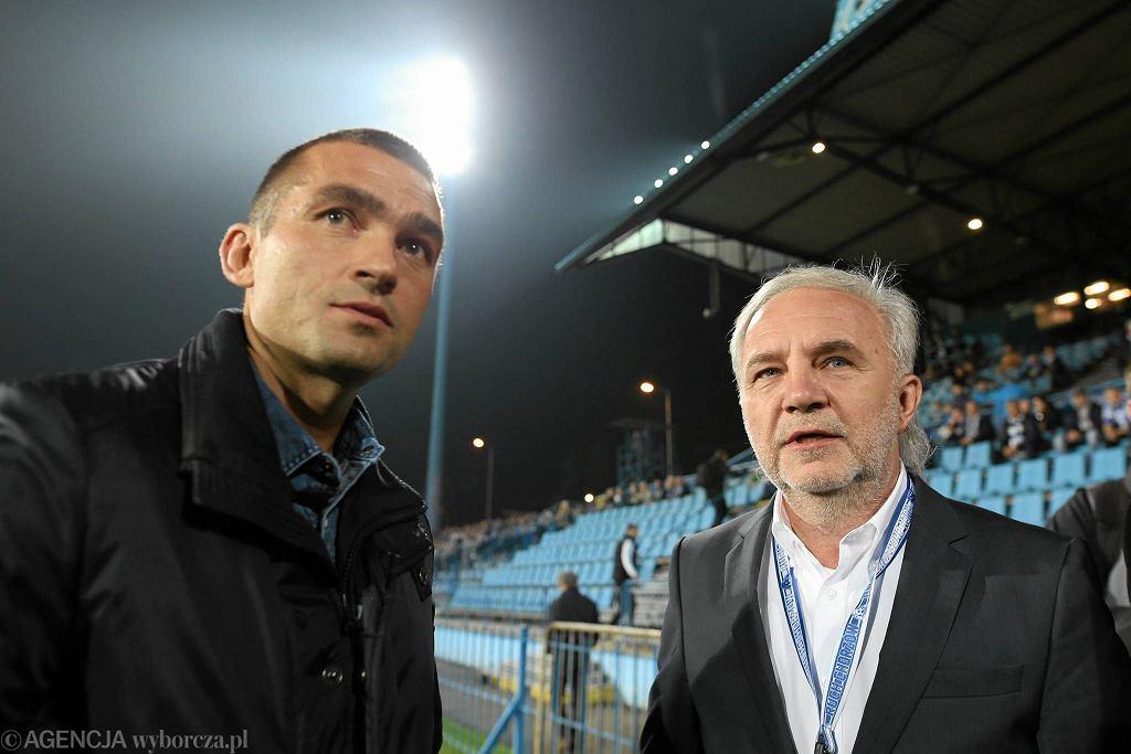 Łukasz Surma i Janusz Paterman