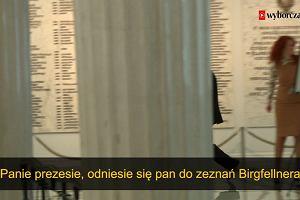 Prezes Kaczyński pierwszy raz zapytany o kopertę i księdza Sawicza