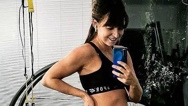 Anna Lewandowska - treningi w ciąży