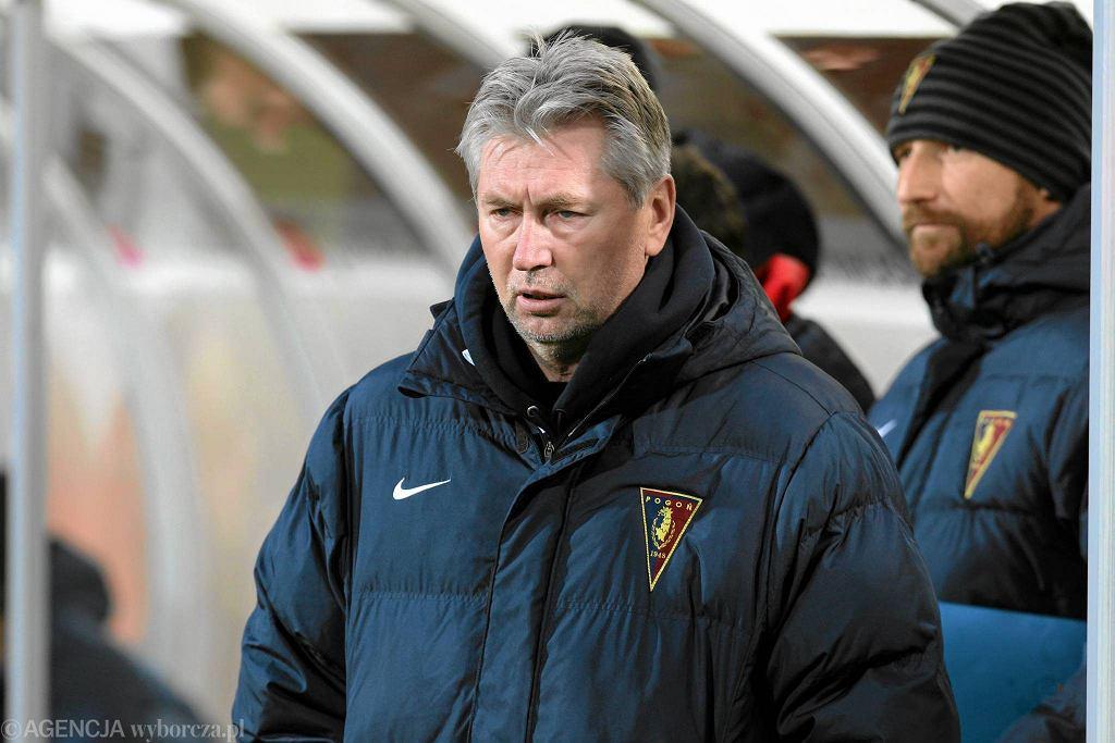 Trener Pogoni Szczecin Jan Kocian