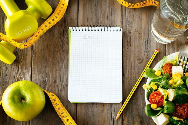 Zdrowa dieta wymaga samozaparcia i dyscypliny.