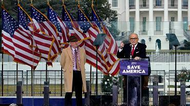 Rudolph Giuliani - z prawej