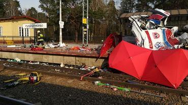 Wypadek na przejeździe kolejowym w Puszczykowie