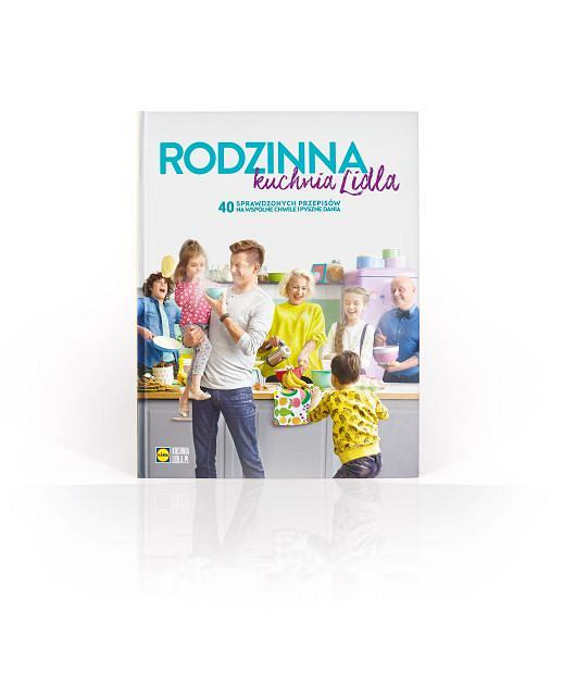 Książka Rodzinna Kuchnia Lidla
