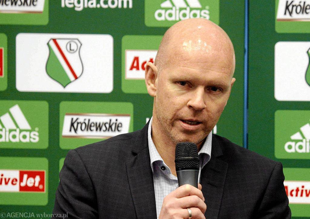Trener Legii Warszawa, Norweg Henning Berg