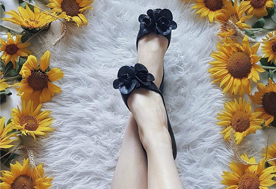 baleriny Zaxy czarne