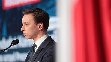Wybory prezydenckie 2020. Kandydat Konfederacji na prezydenta Krzysztof Bosak.