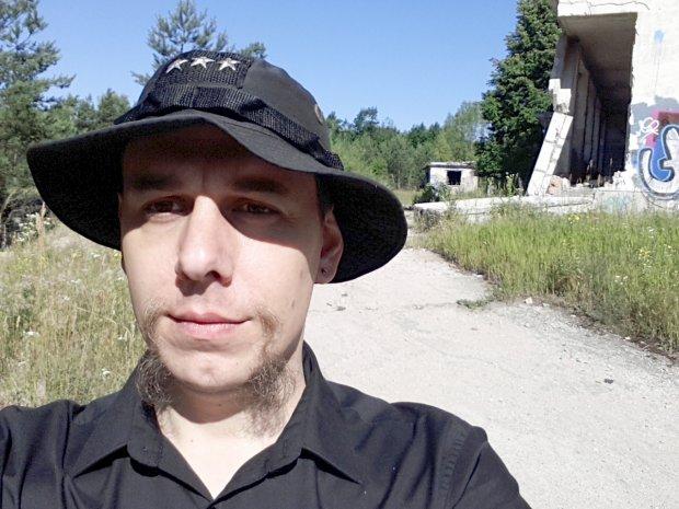 Bartek Biedrzycki w Atomowej Kwaterze Dowodzenia (fot. archiwum prywatne)