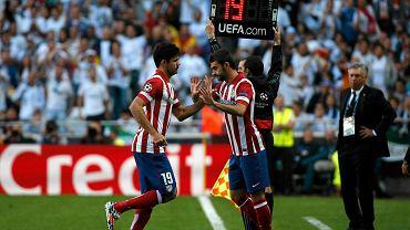 Diego Costa schodzi z boiska
