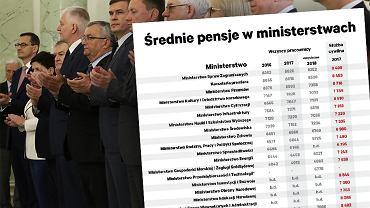 Średnie wynagrodzenia w ministerstwach. Fot. Sławomir Kamiński / Agencja Gazeta