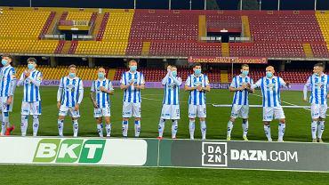 Piłkarze Pescary przed meczem z Benevento