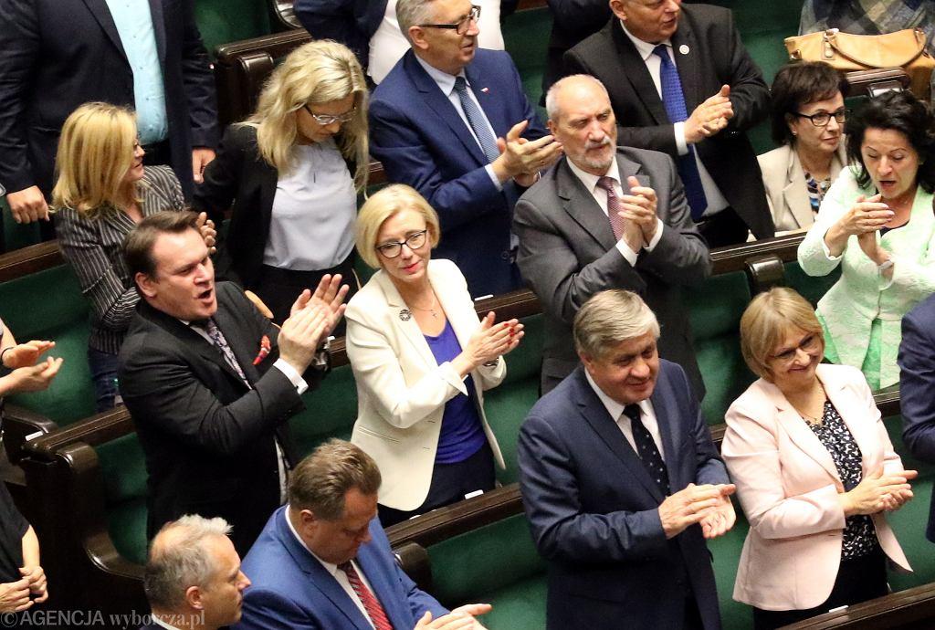 Sejm przyjął zmiany w przepisach dotyczących Sądu Najwyższego