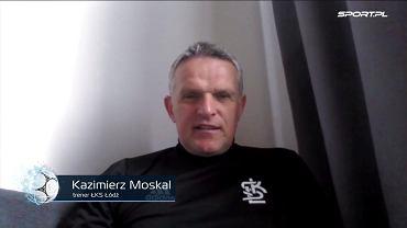 Kazimierz Moskal, trener ŁKS-u Łódź