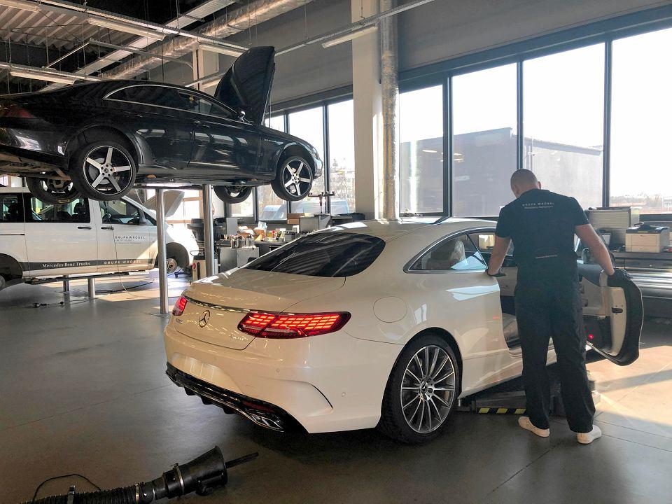 Przegląd wiosenny w serwisie Mercedes-Benz Grupa Wróbel