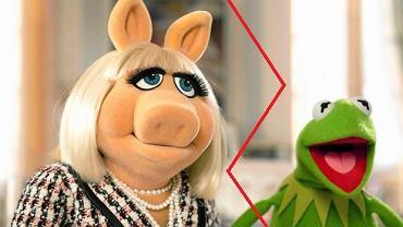 Miss Piggy i Żaba Kermit