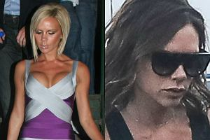 Victoria Beckham w 2007 r. i obecnie