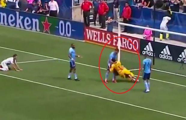 Zlatan Ibrahimović został ukarany za incydent z meczu z New York City FC