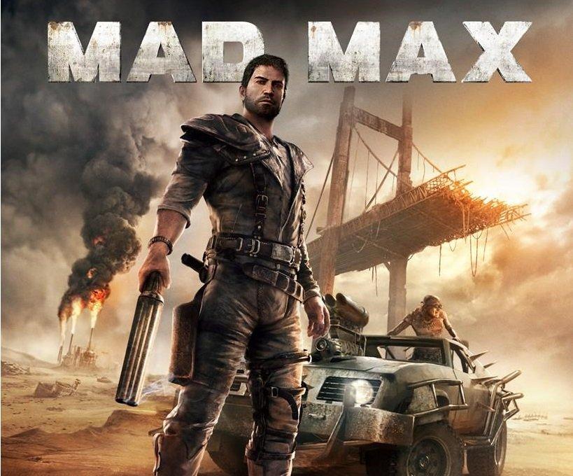 Mad Max - okładka gry