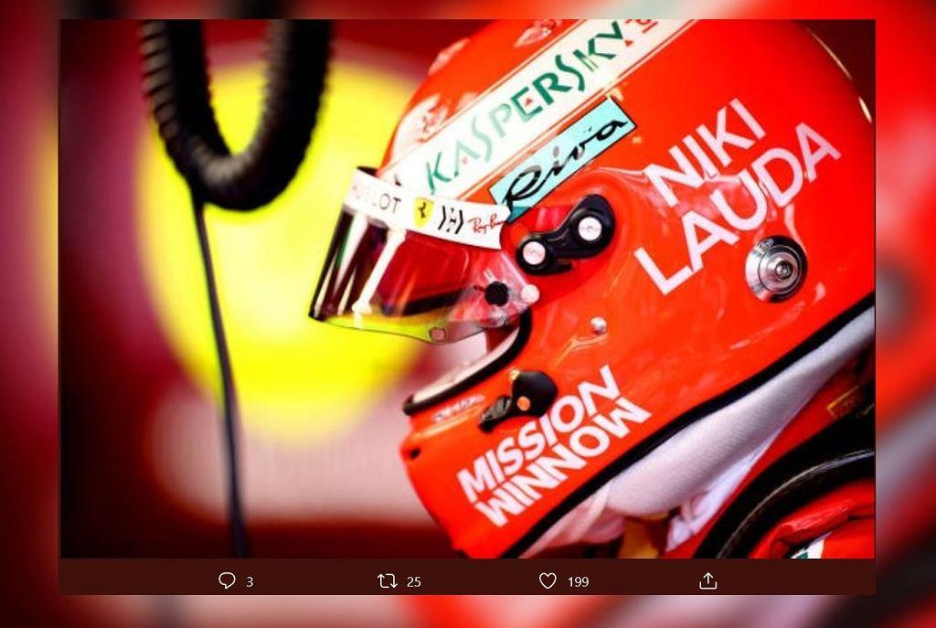 Kierowcy F1 upamiętniają Nikiego Laudę