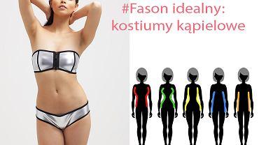 Fason idealny: jak dobrać kostium kąpielowy do sylwetki?