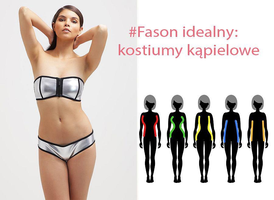 3a9d6996928409 Fason idealny: jak dobrać kostium kąpielowy do sylwetki?