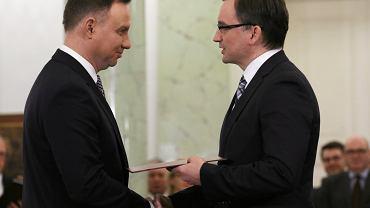 Rekonstrukcja rządu. Zbigniew Ziobro nie zgodził się na propozycję Andrzeja Dudy