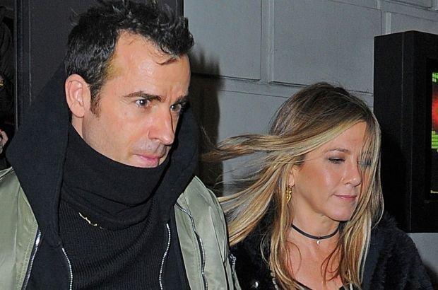Justin Theroux, Jennifer Aniston,