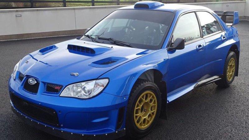 Subaru Impreza WRX STI Colina McRae