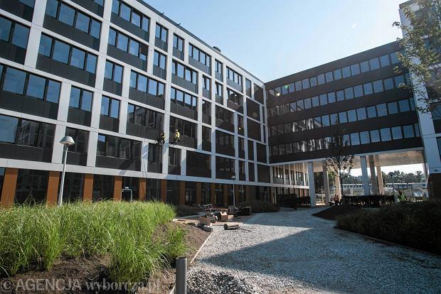 Budowa Business Garden we Wrocławiu