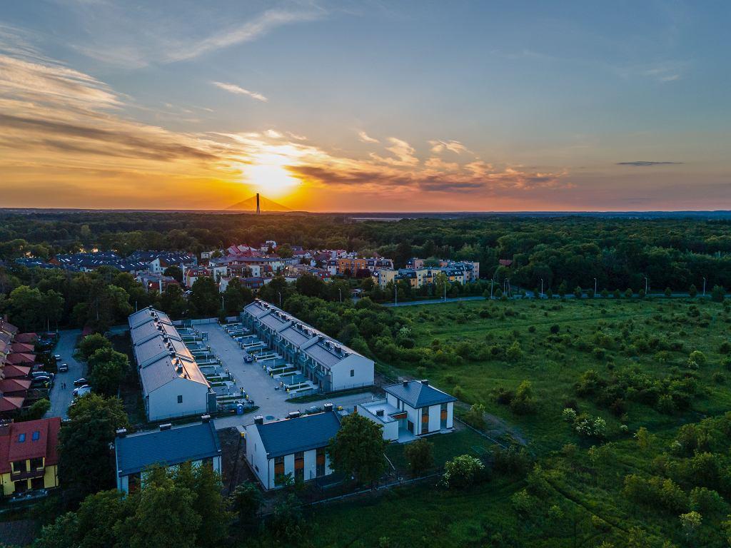 Osiedle firmy Robyg WPB Leśna Przystań we Wrocławiu
