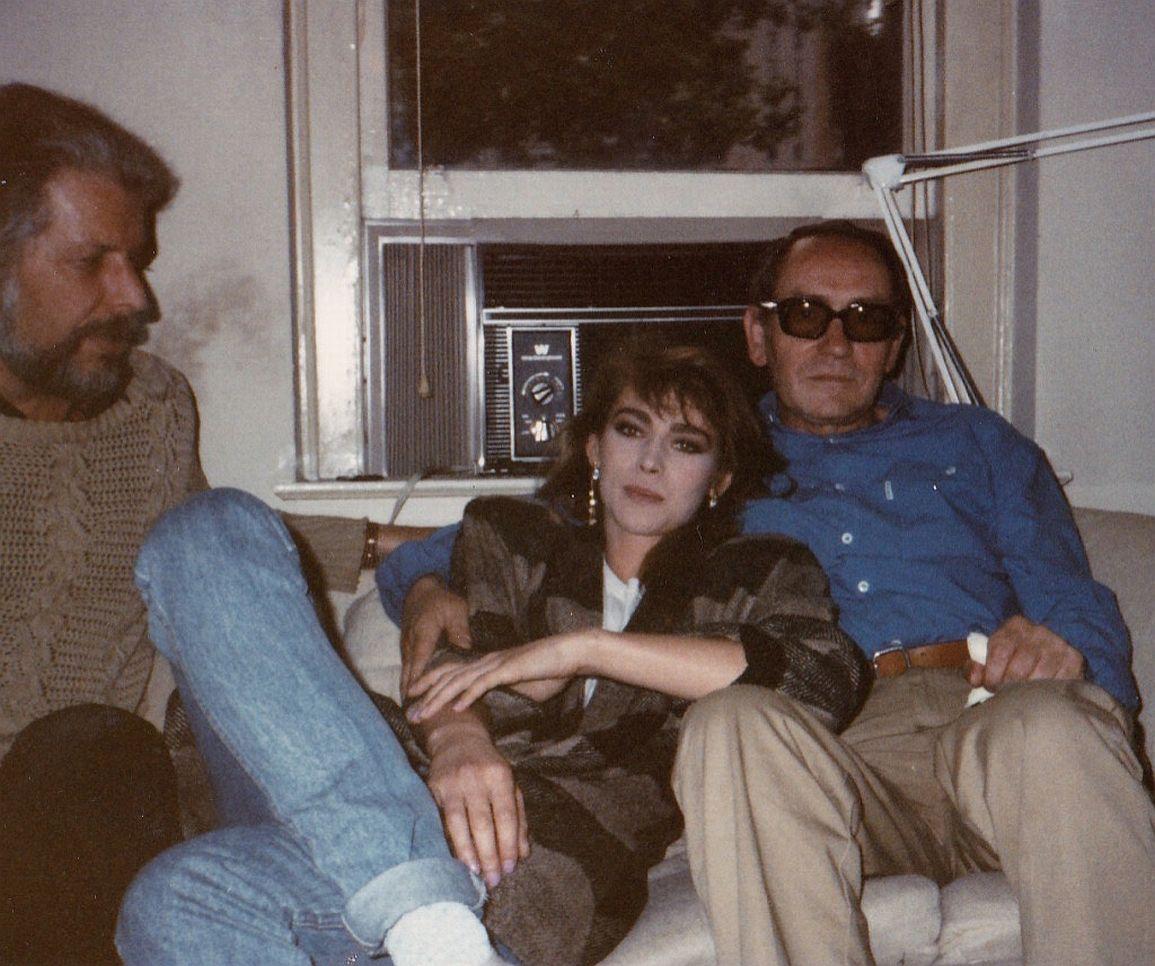 FRICHARD LOURIE, JOASIA PACUA I OJCIEC U MNIE NA ULICY 60-TEJ NY 1985