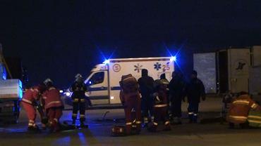 Strażacy z Lotniska Chopina uratowali życie trzem mężczyznom