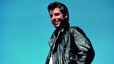 "John Travolta w ""Grease"""