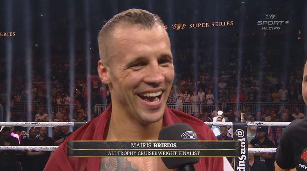 Mairis Briedis śmiał się w twarz Głowackiemu