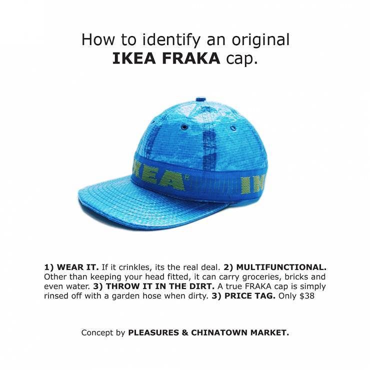 Za pomysł się płaci - w tym przypadku około 150 zł, mimo że Frakta, z której wykonano czapkę, kosztuje niecałe 2 zł