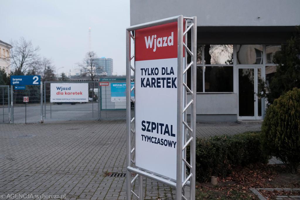 Szpital tymczasowy w Poznaniu